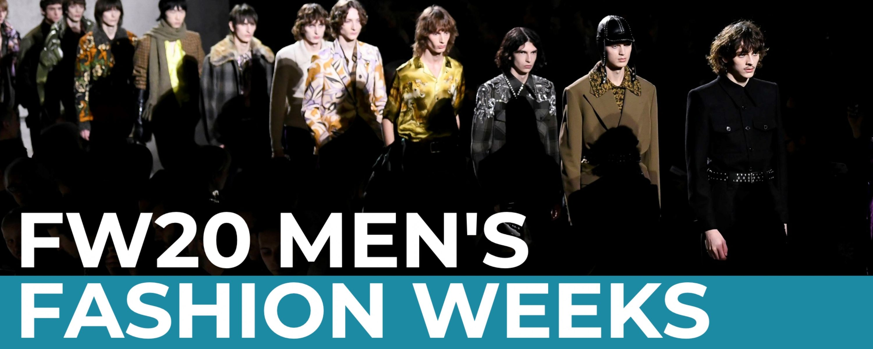 FW20 Men's Fashion Weeks