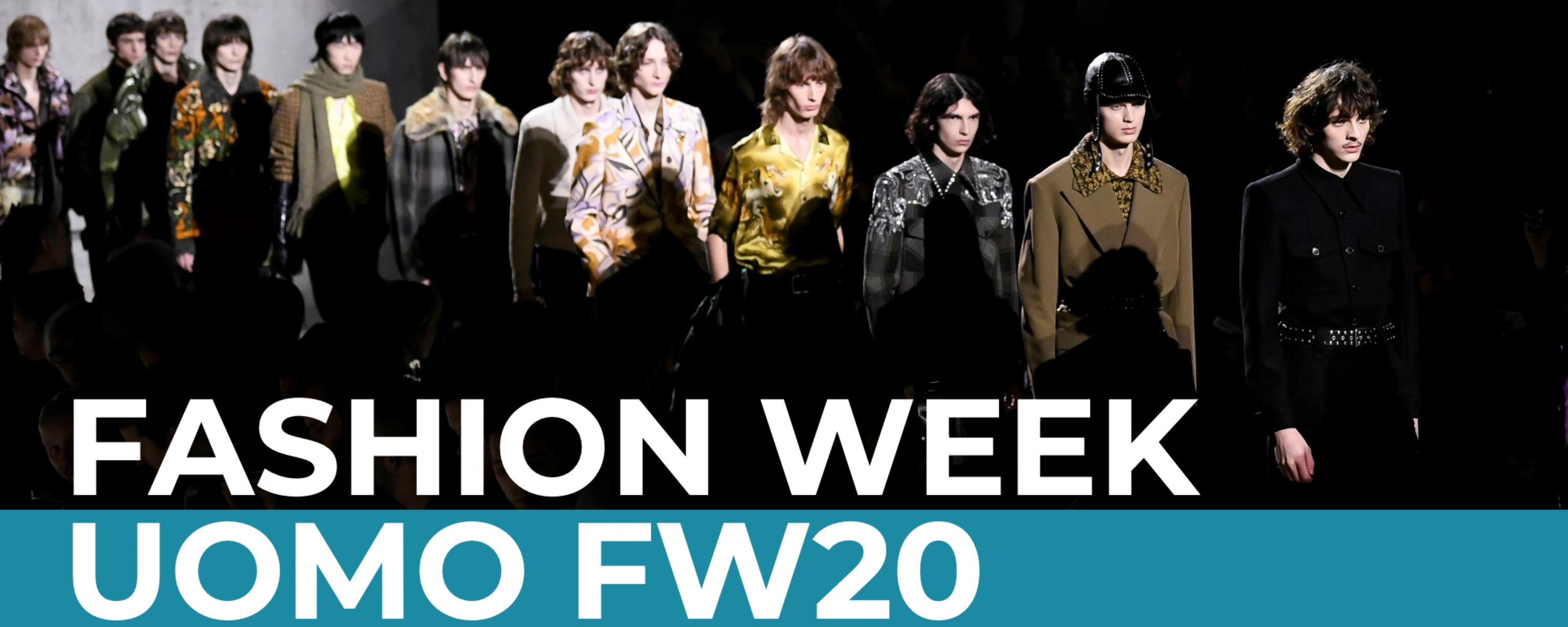 Fashion Week Uomo FW20