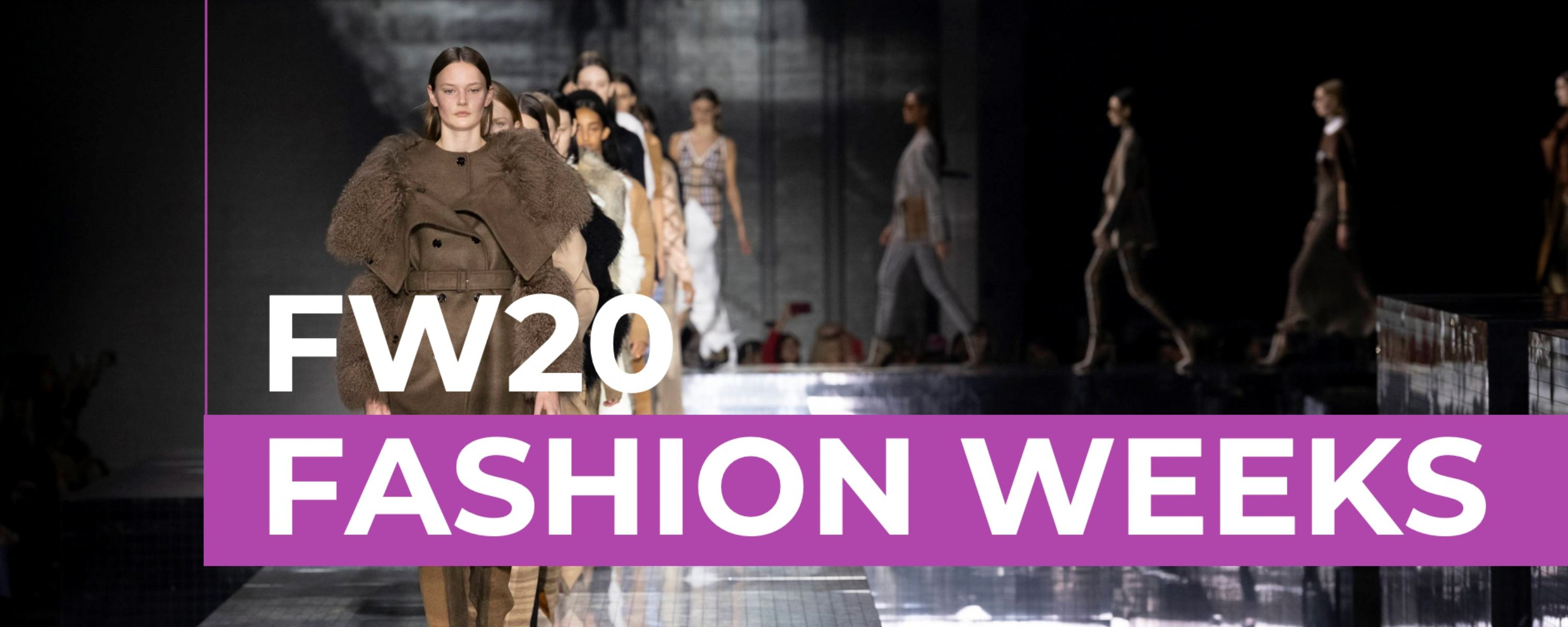 FW20 Fashion Weeks